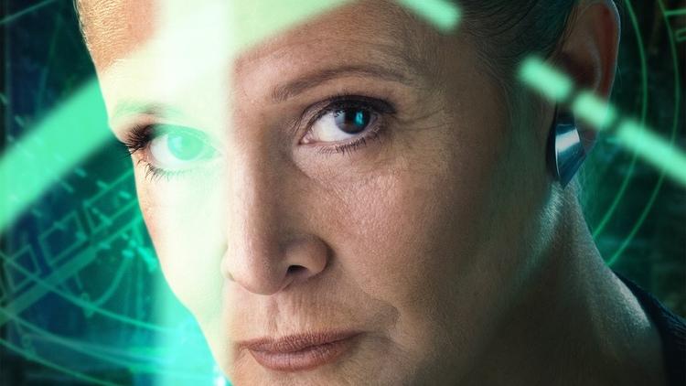 leia star wars the force awakens przebudzenie mocy
