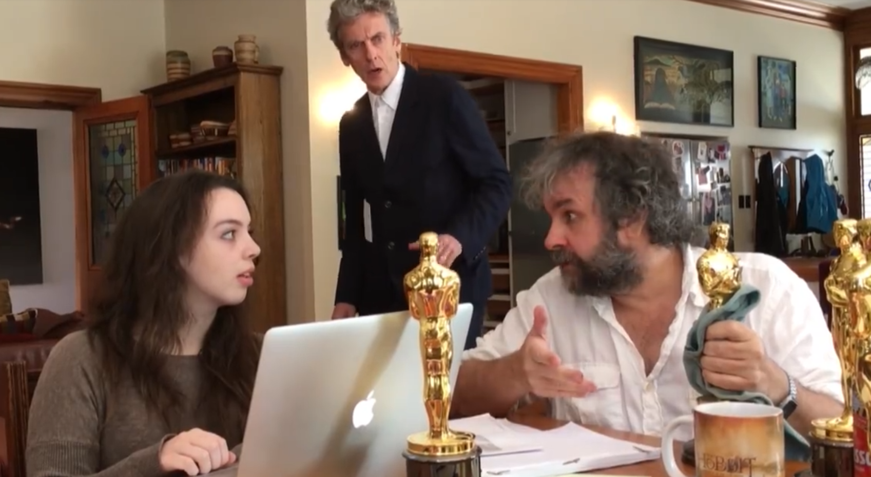 """Czy Peter Jackson właśnie potwierdził, że zostanie reżyserem serialu """"Doktor Who""""?"""