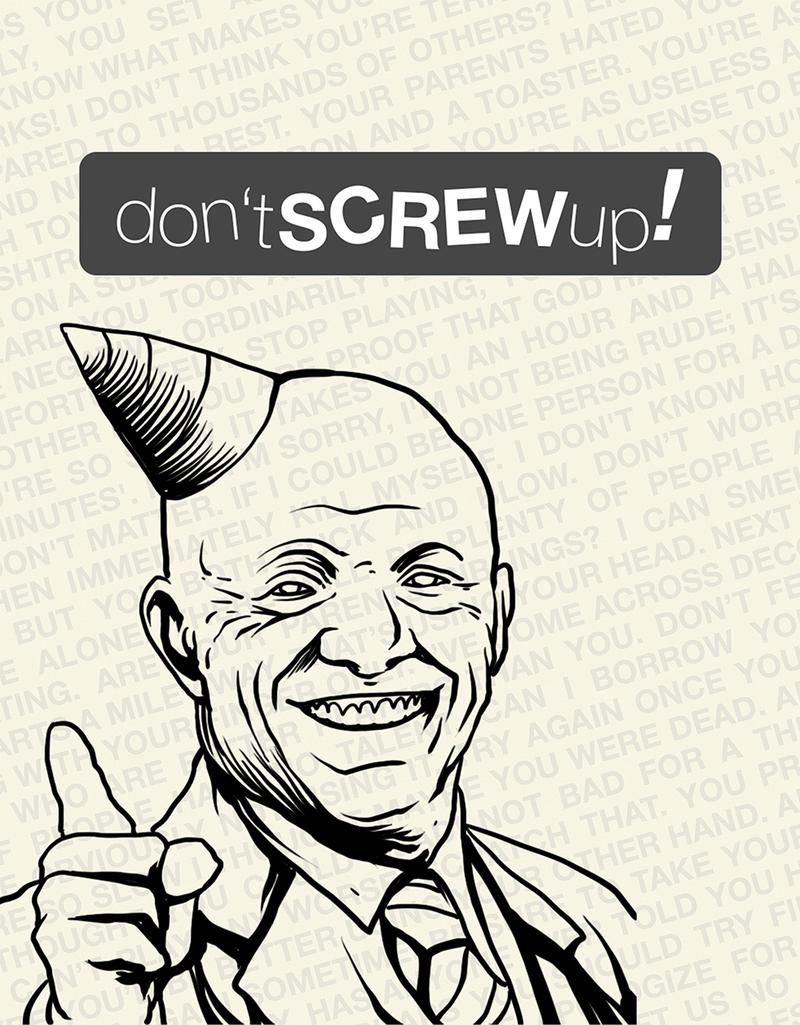 Don't Screw Up! wciąga jak bagno. Mobilna gra, która jest tak samo grywalna, co bezczelna