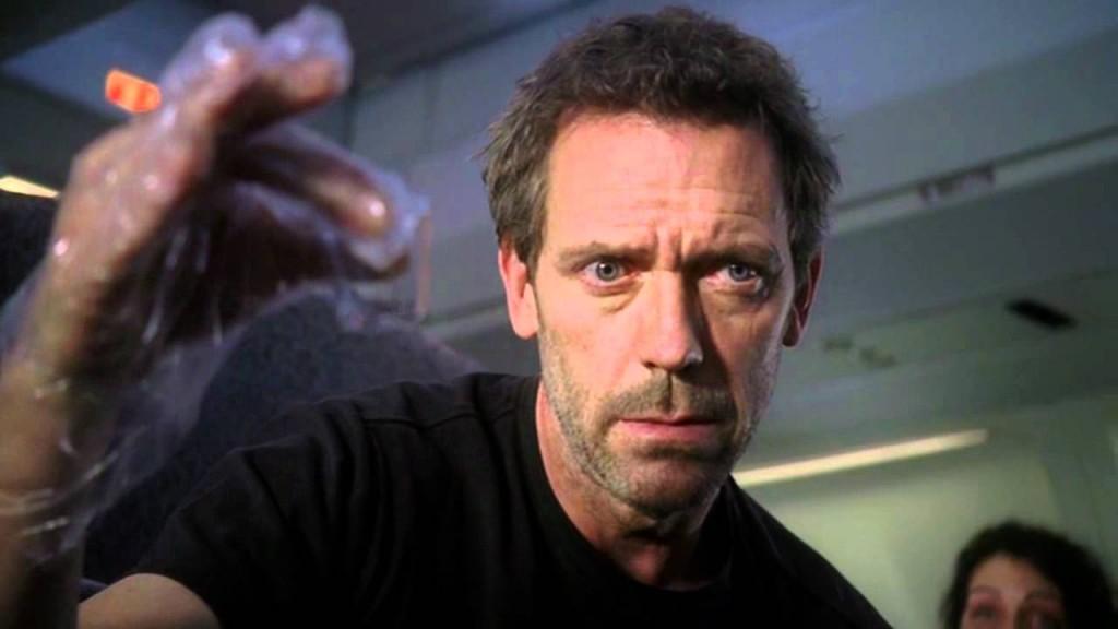 Hugh Laurie jako doktor House