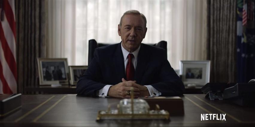 Wszystkie grzechy Franka Underwooda w jednym wideo. Zobacz, na kogo zasługuje Ameryka