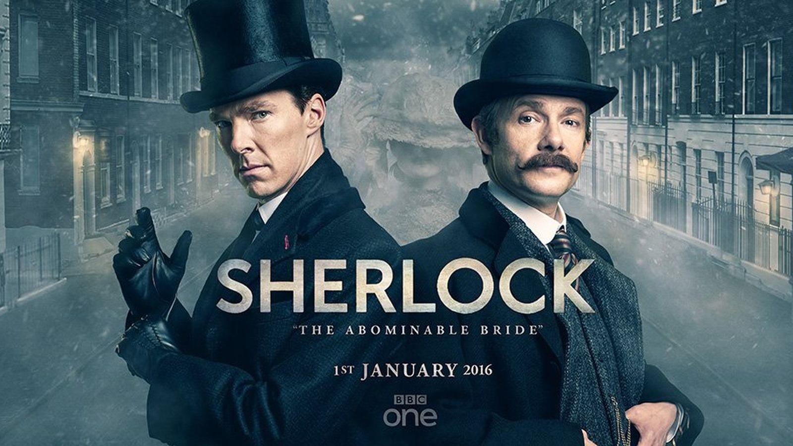 """Do twarzy panu w wiktoriańskim anturażu, panie Holmes. """"Sherlock i upiorna panna młoda"""" – recenzja sPlay"""