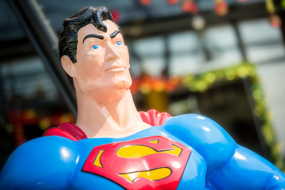 Komiks to nie film, t-shirt z Supermanem, ani główna atrakcja w parku rozrywki