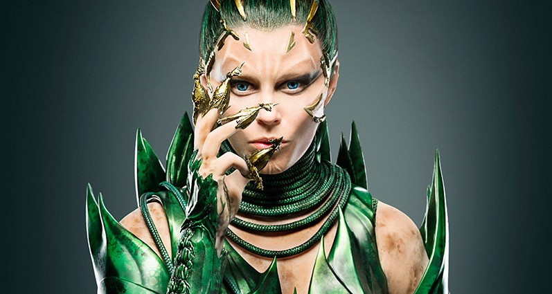 To nie kobieta z filmu fantasy. To nowa wersja pamiętnej postaci z kinowego Power Rangers
