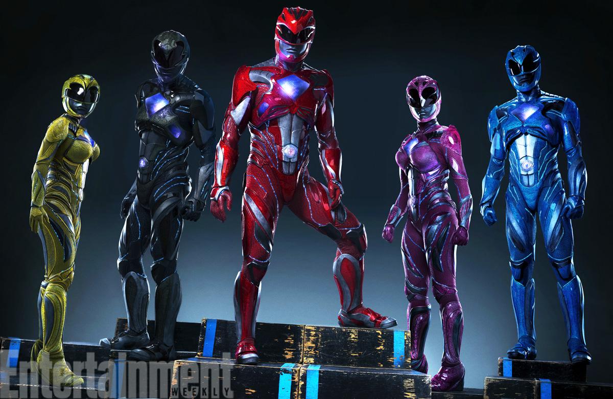 """Tak wygląda powrót legendy. Oto nowe kostiumy z planu """"Power Rangers"""""""