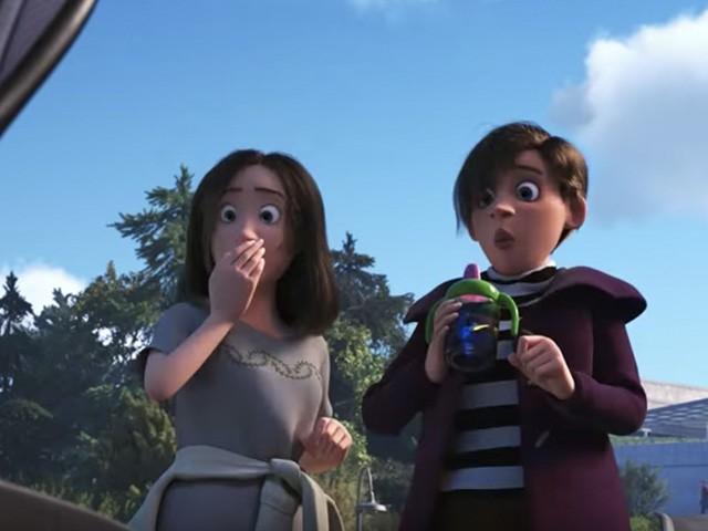 """Kadr z filmu """"Gdzie jest Dory"""""""
