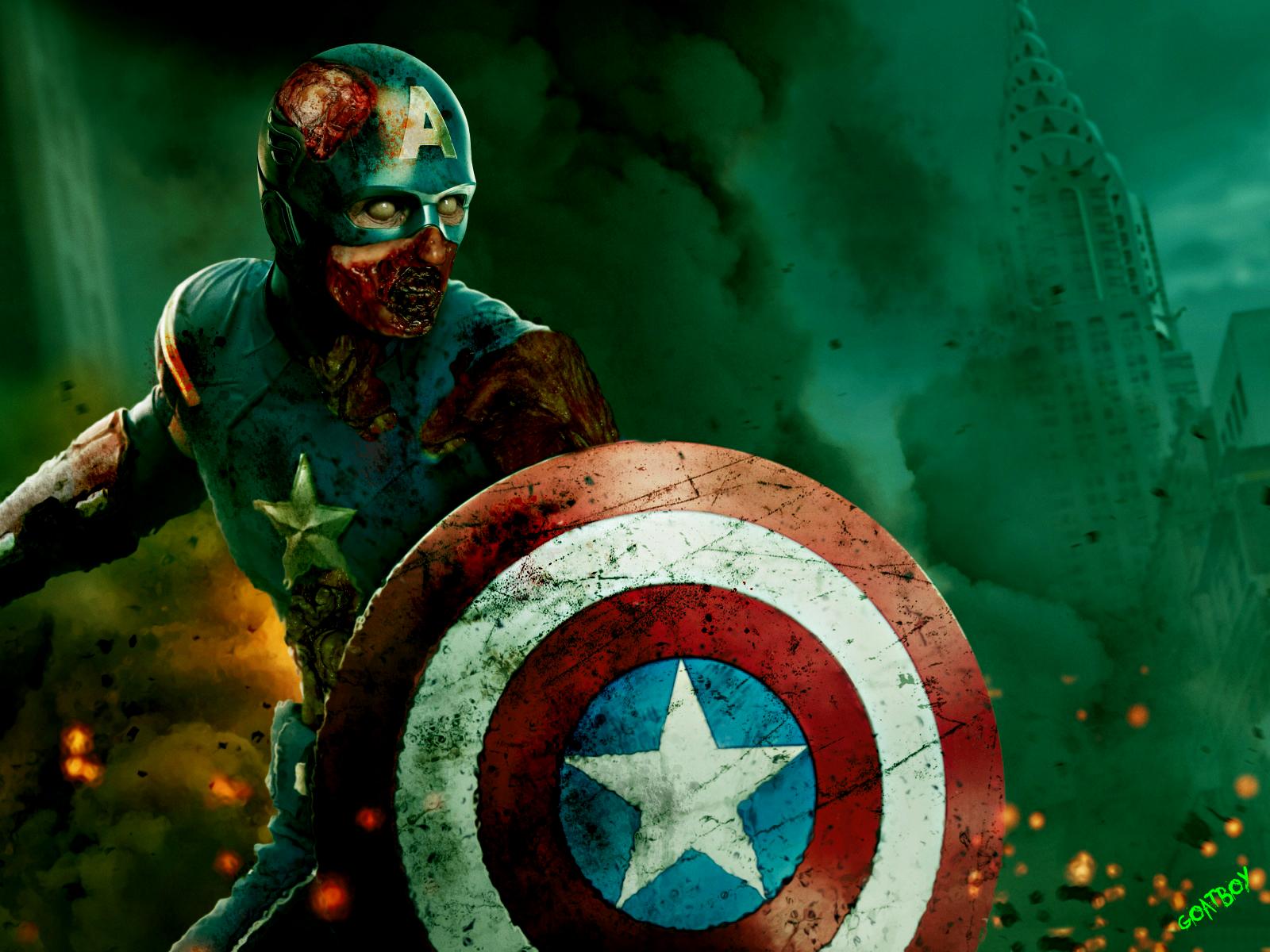 Trzeci Kapitan Ameryka miał wyglądać zupełnie inaczej. Zamiast Civil War, w planach były… zombie