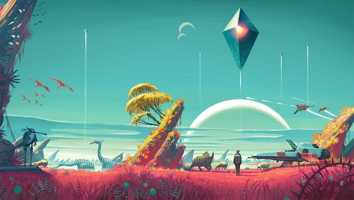 Fani sci-fi, łączmy się. Z okazji premiery No Man's Sky świetny, klimatyczny soundtrack wylądował na YouTube