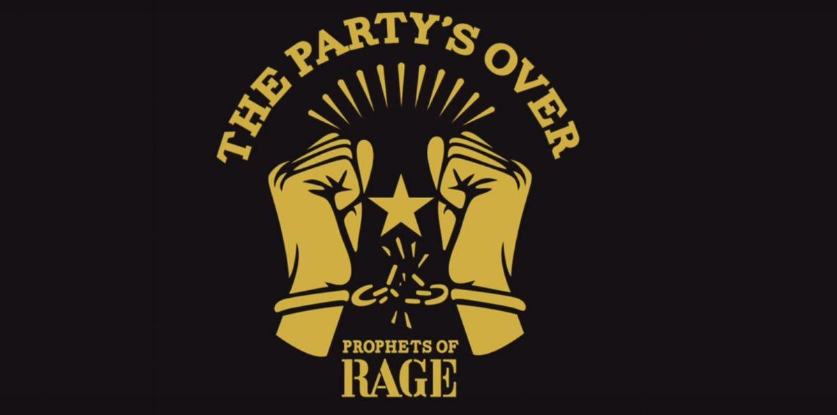 """Pusty protest podstarzałych buntowników. Prophets of Rage """"The Party's Over"""" – recenzja sPlay"""