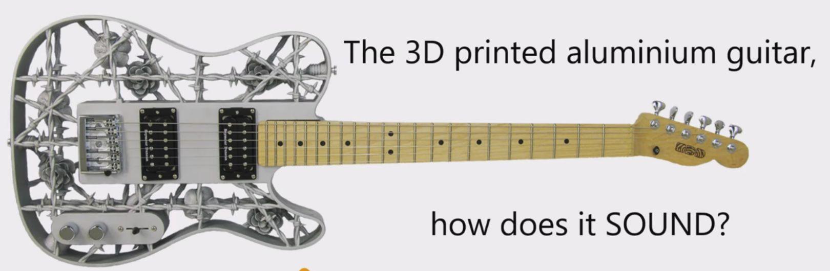 Po co kupować, skoro można drukować? Oto gitara z drukarki 3D