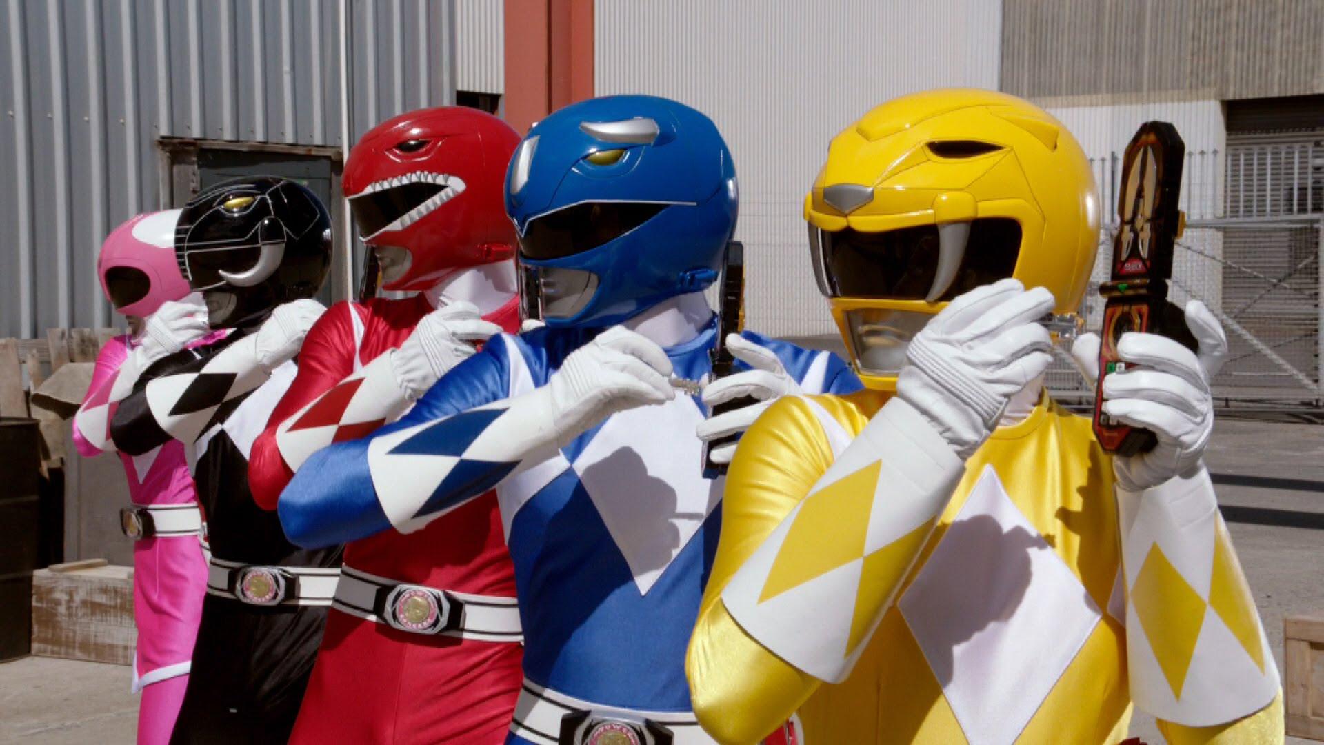 Nowi wojownicy Power Rangers w całej okazałości – oto kolejne szczegółowe zdjęcia