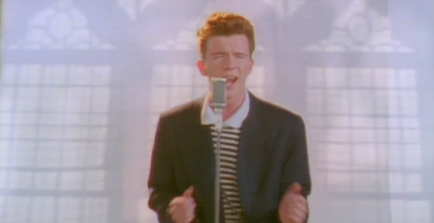 Rick Astley Never Gonna Give You Up Video Youtube - HD 1840×946