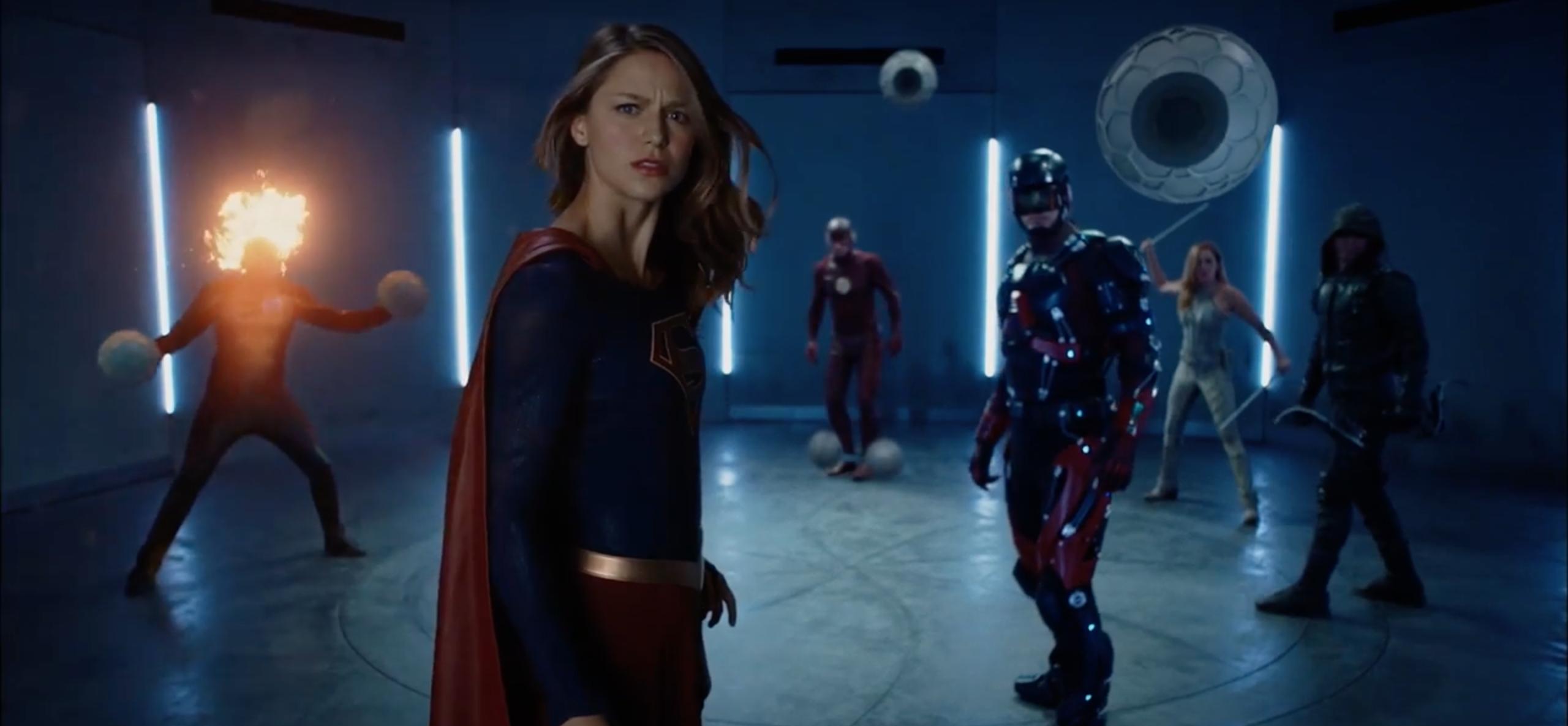 CW przypomina efekciarskim klipem, jak ich telewizyjne imperium herosów rozrosło sięod 2012 roku