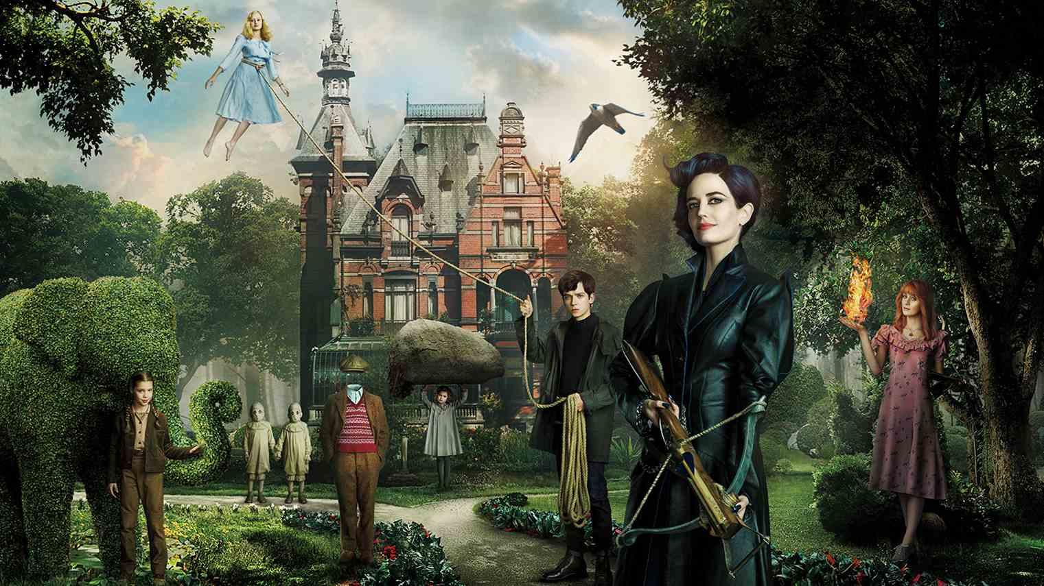 """X-meni zmieszani z """"Dniem świstaka"""" w wersji Tima Burtona. """"Osobliwy dom Pani Peregrine"""", recenzja sPlay"""