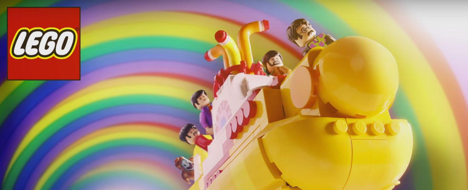 Przedstawiamy Beatlesów w wersji Lego!