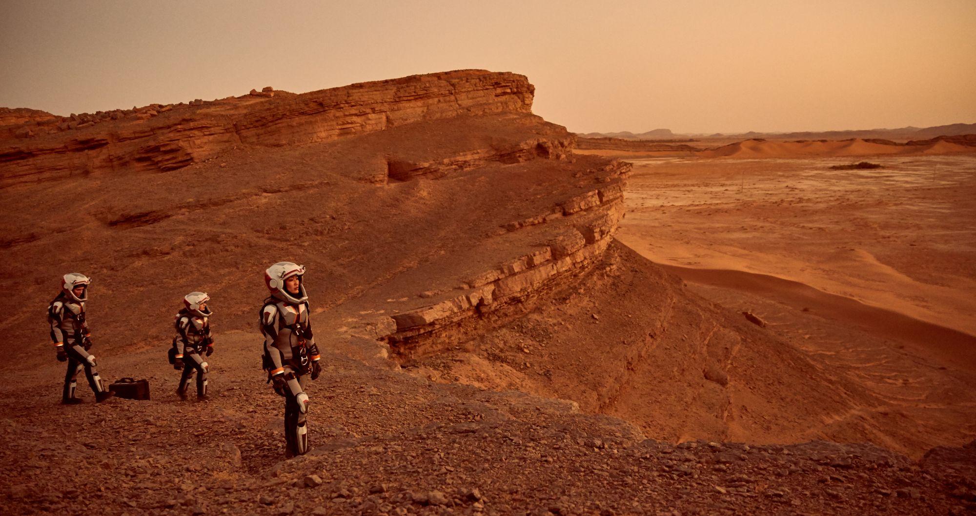 Byłem na Marsie. Nowa seria National Geographic to science, które wkrótce przestanie być fiction
