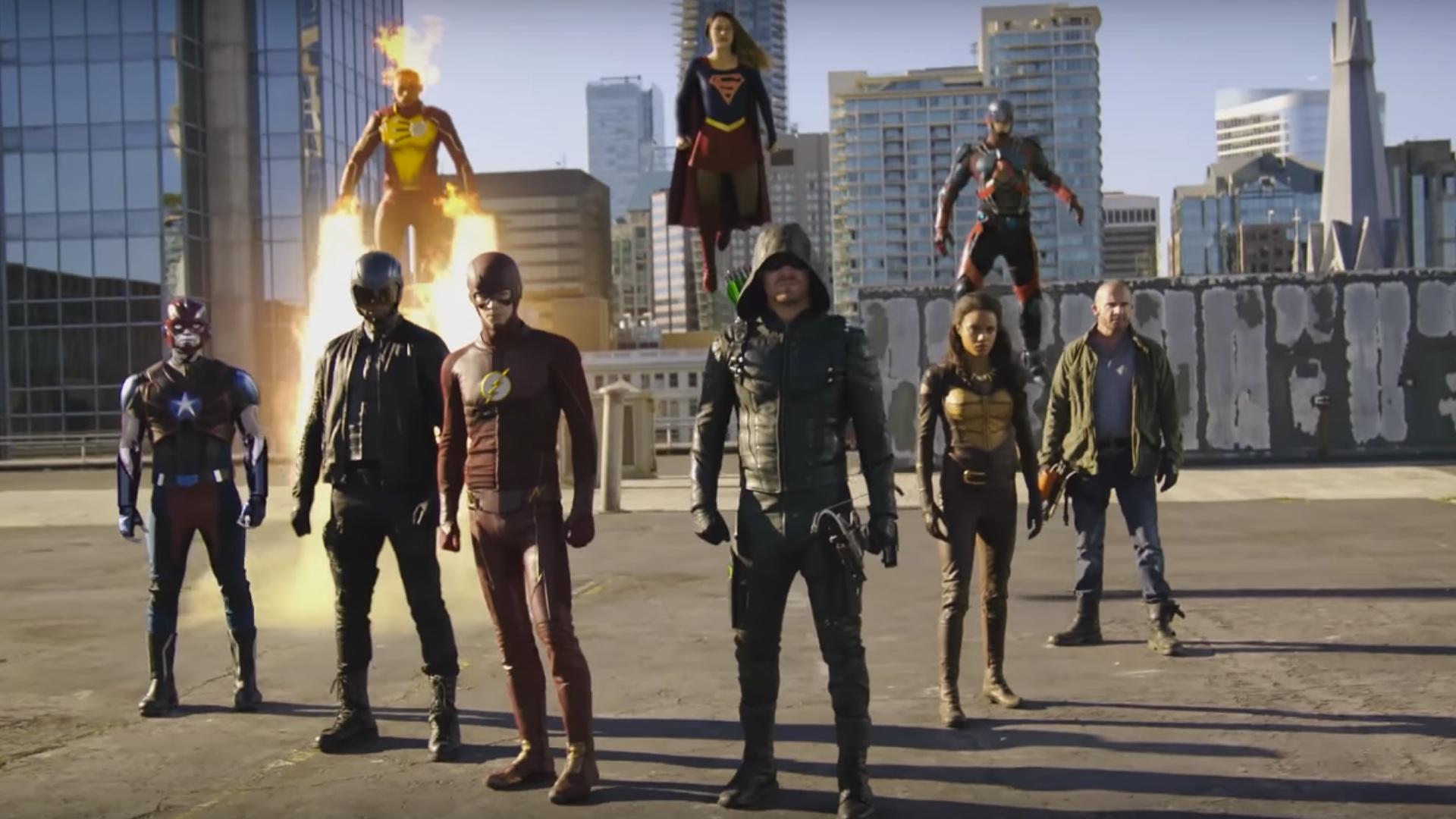 Oto zwiastun wielkiej fuzji seriali CW – Flash, Arrow i Supergirl razem walczą przeciwko Obcym