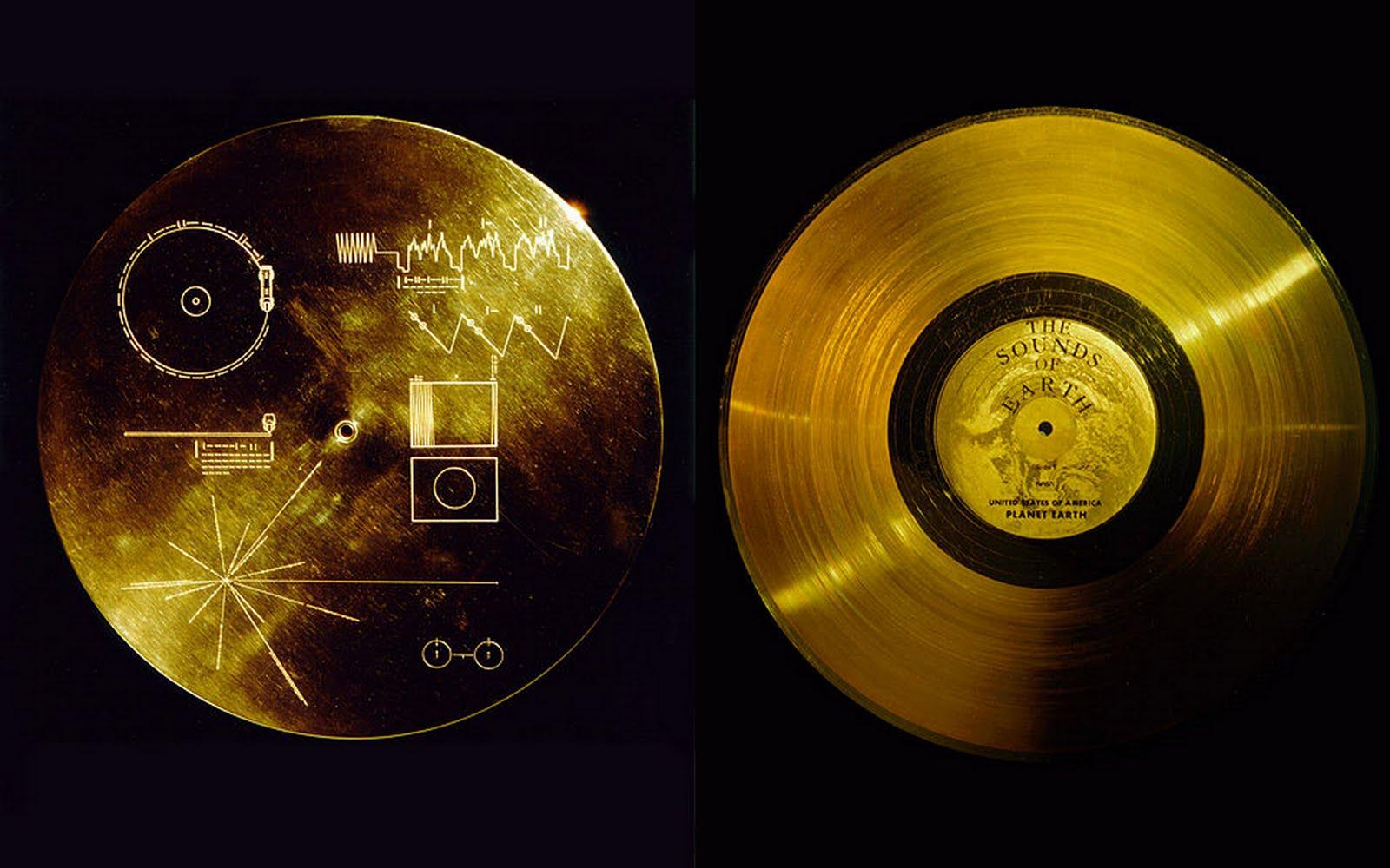 Voyager Golden Record. Źródło: spidersweb.pl