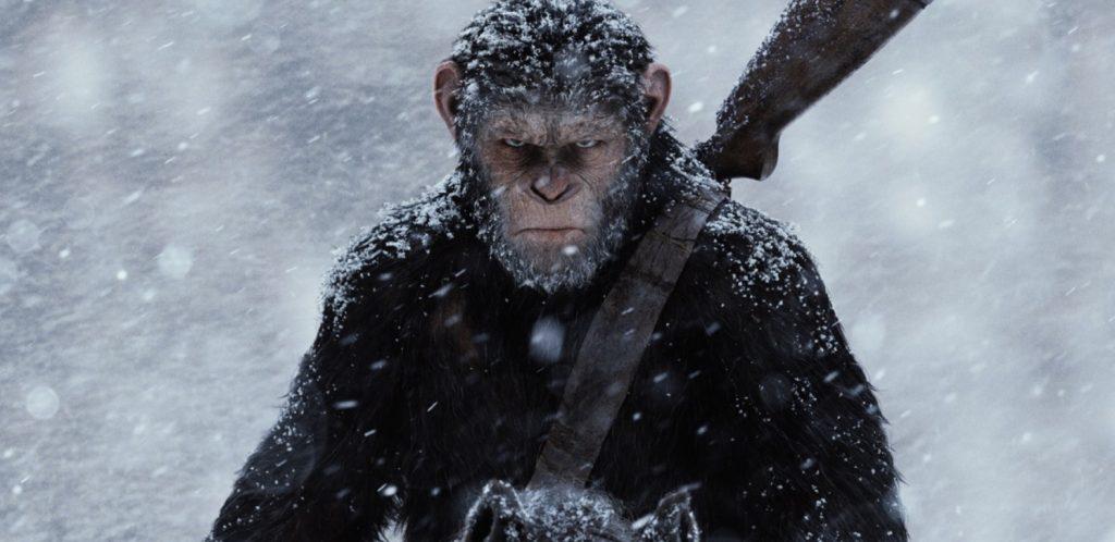 Kadr z filmu Wojna o Planetę Małp