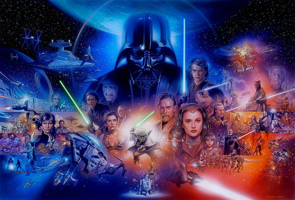 Star Wars są już trzecią najbardziej kasową franczyzą w historii kina