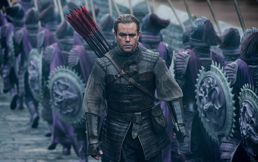 Wielki Mur - The Great Wall - recenzja