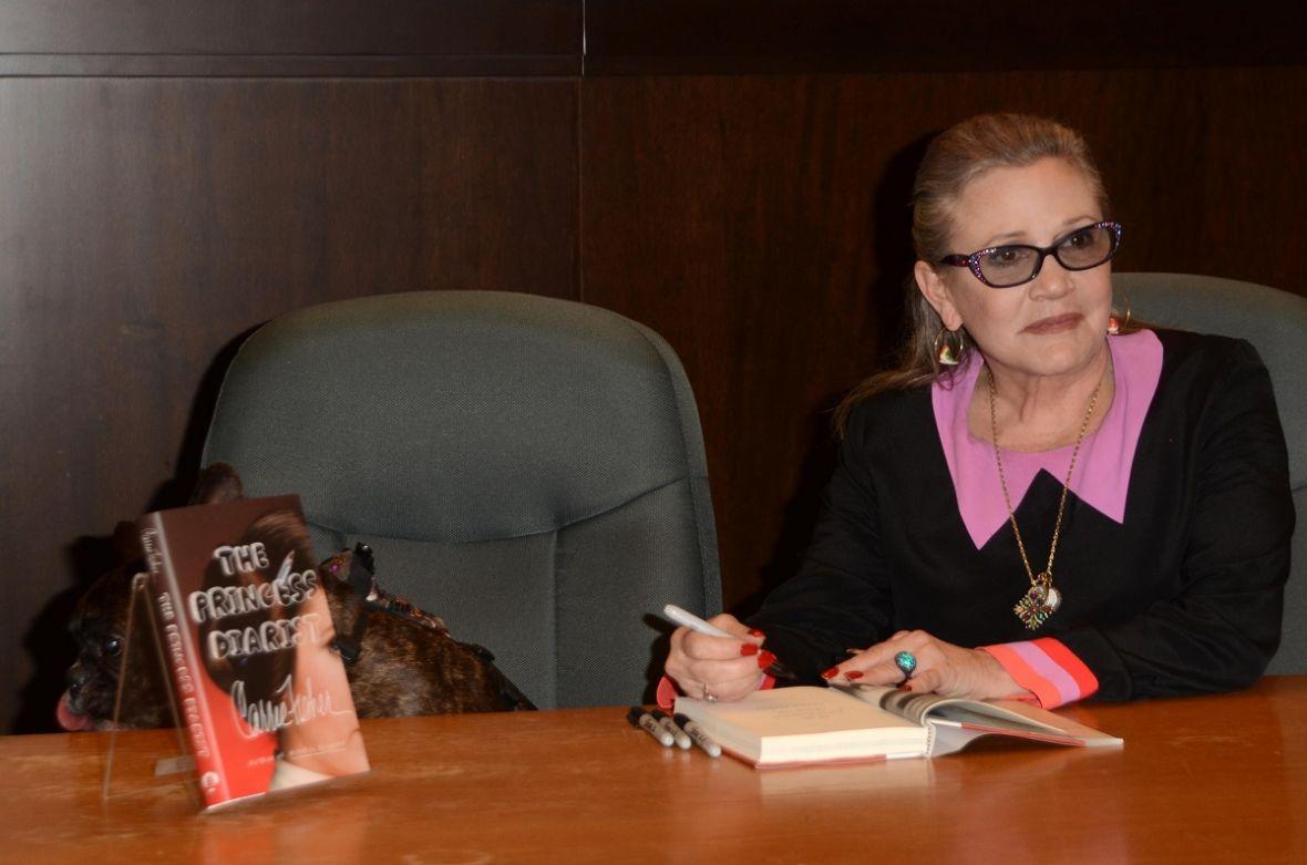 Carrie Fisher i jej pamiętnik księżniczki: romans, uzależnienia i wielkie Hollywood – recenzja Spider's Web
