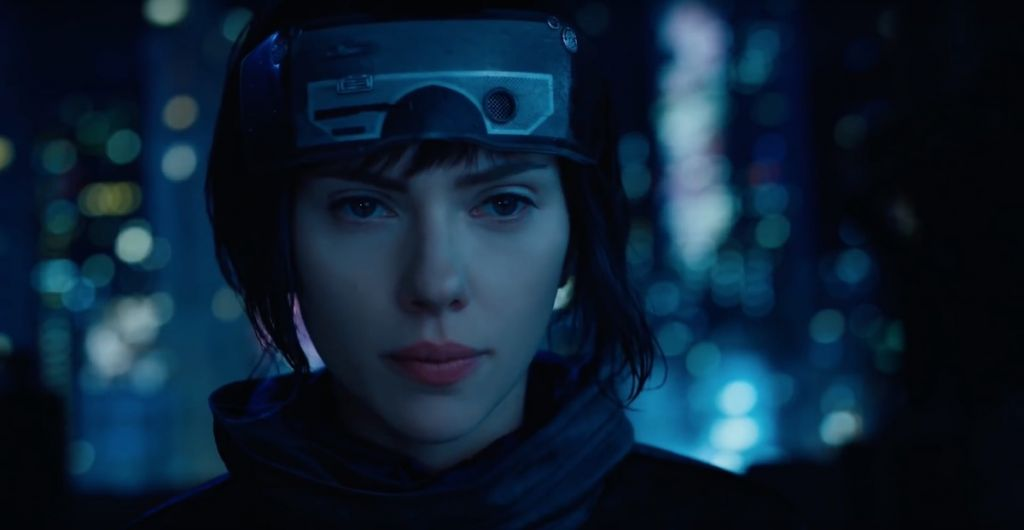 Ghost in the Shell 2017 Scarlett Johanson