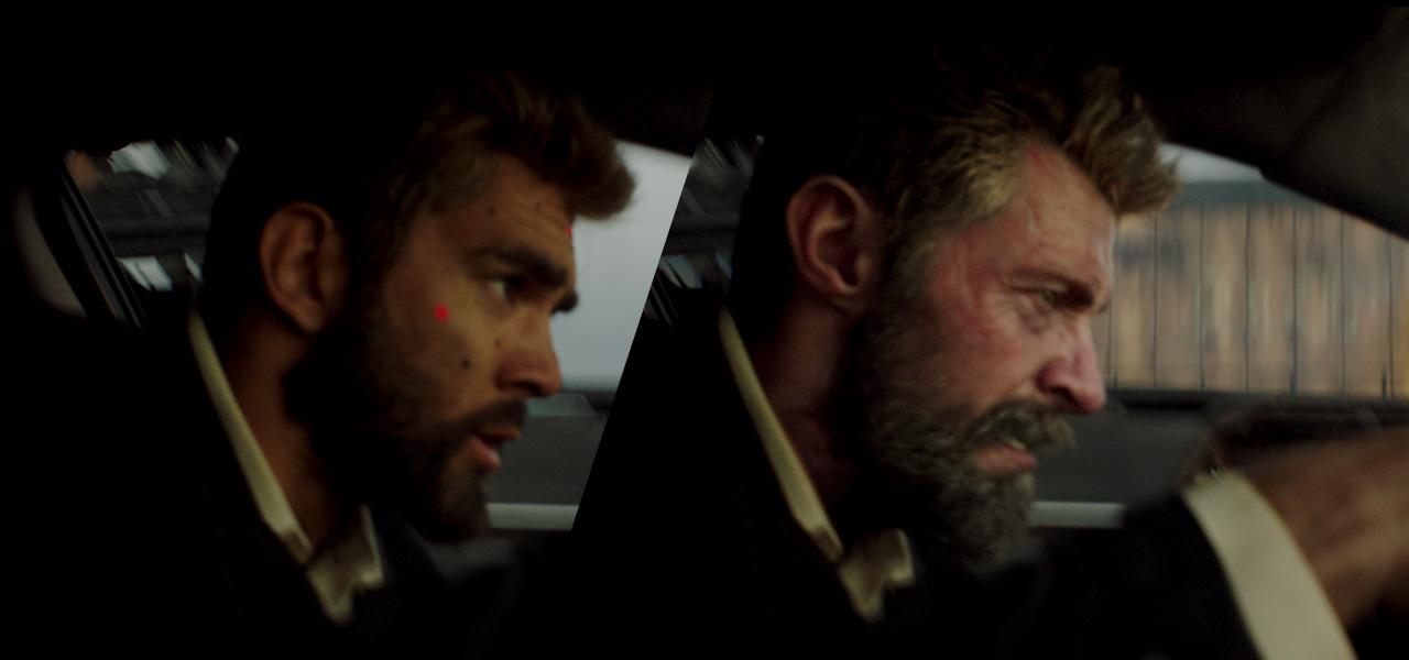W filmie logan wolverine w niekt rych scenach cgi - Wolverine cgi ...