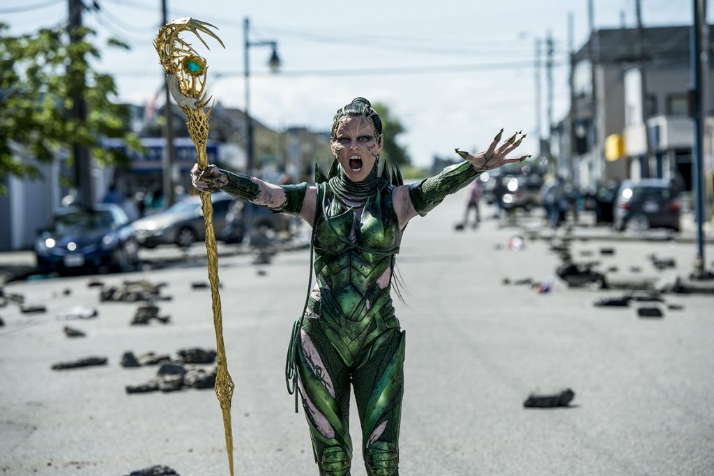 Power Rangers recenzja film 2017 - Rita Repulsa