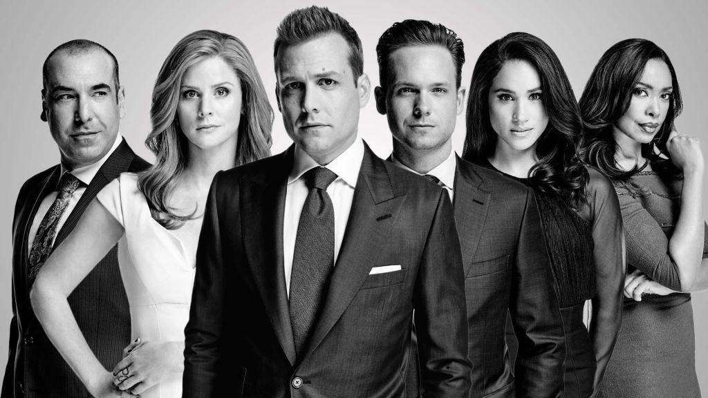suits w garniturach mike ross Harvey specter Rachel zane Meghan markle