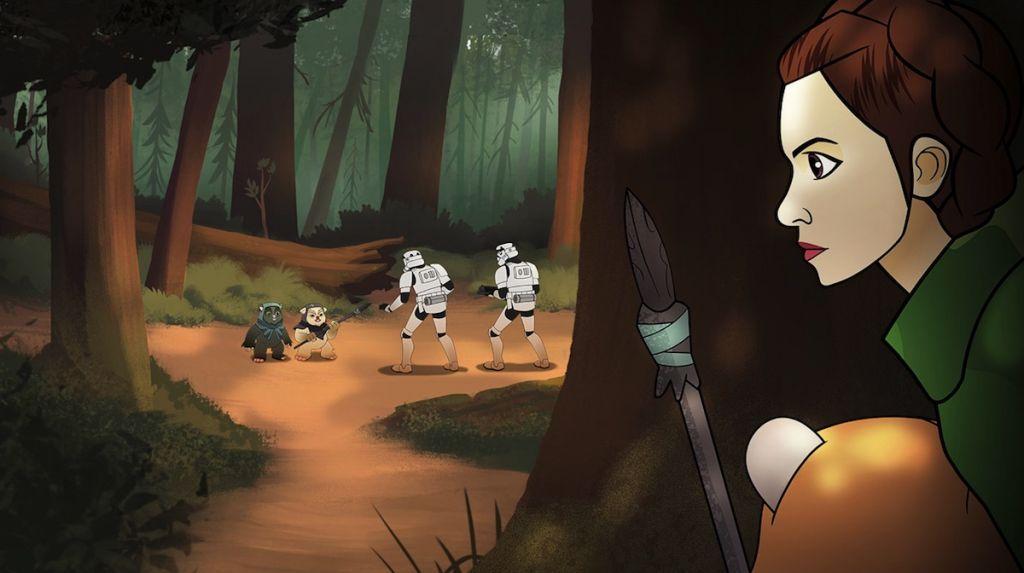 Star Wars Forces of Destiny - trailer serialu Gwiezdne wojny na YouTube