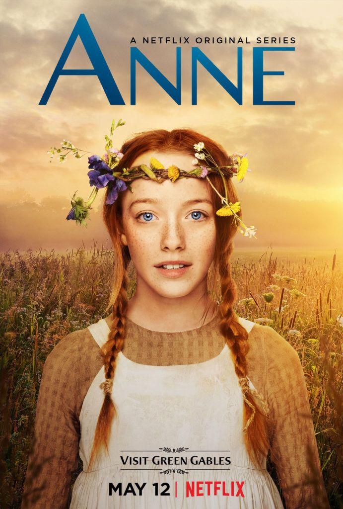 Plakat serialu Anne od serwisu Netflix