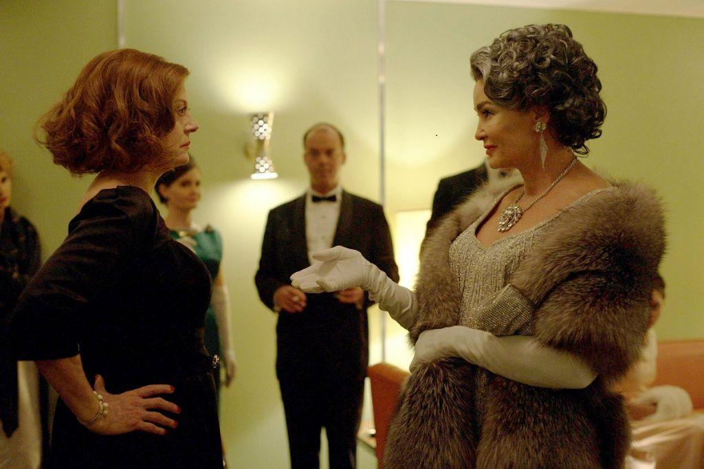 Susan Sarandon jako Bette Davis i Jessica Lange jako Joan Crawford / fot. Suzanne Tenner/FX