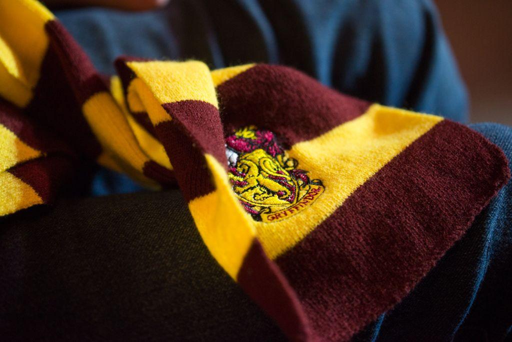 Szalik Gryffindoru był częstym widokiem.