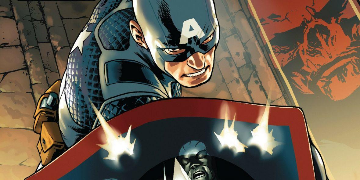 """Kapitan Ameryka kontra wszyscy prawi – Marvel kontynuuje """"Hail Hydra"""" w Secret Empire"""