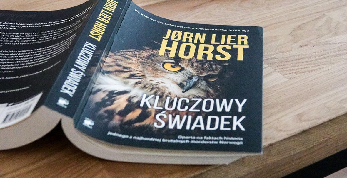 """""""Kluczowy świadek"""" Jørna Liera Horsta to niezły wstęp do świetnej serii kryminałów"""