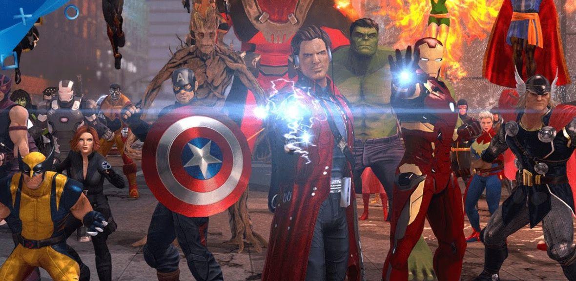 Gracze na PlayStation 4 – darmowe Marvel Heroes Omega już do pobrania i przetestowania