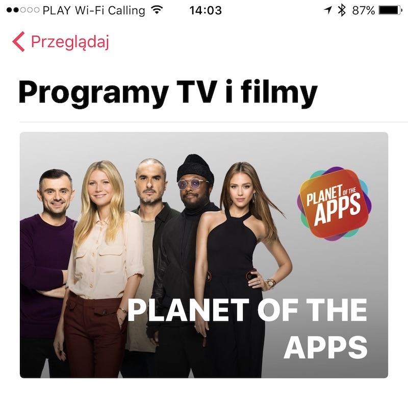 apple music planet of the apps