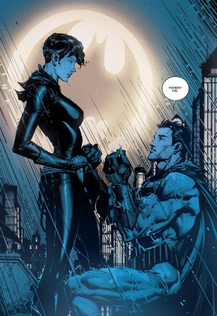 batman 24 catwoman oświadczyny okładka