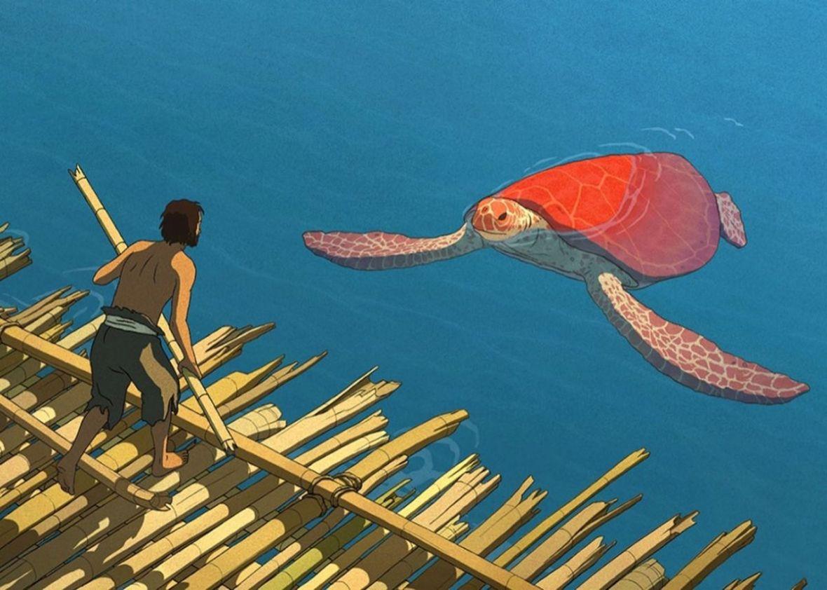 Czerwony żółw to piękna i mądra animacja, w której nie pada ani jedno słowo – recenzja Spider's Web