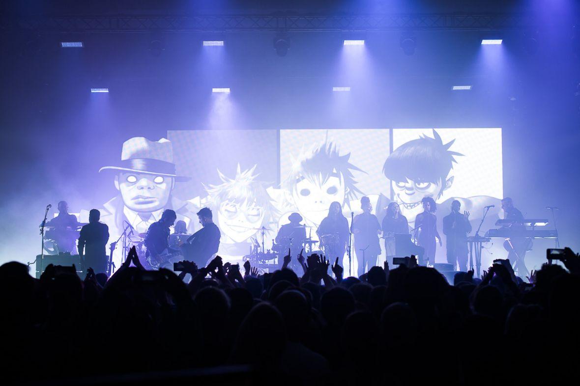Widzieliśmy na żywo występ Gorillaz. Zespółbył pierwszy raz w Polsce i dał nam wspaniałe show – fotorelacja