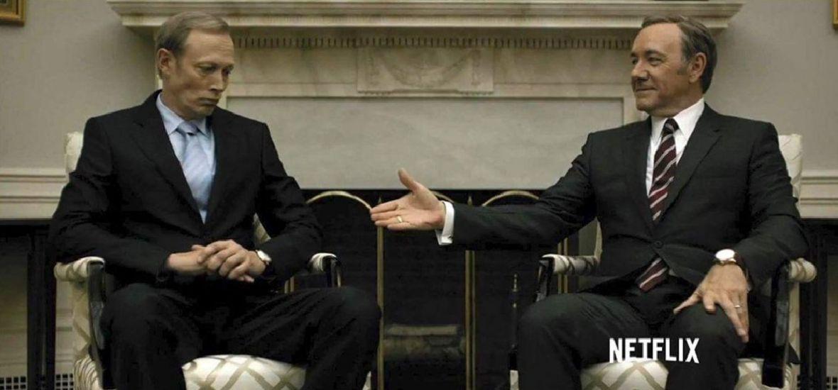 Życie dogoniło serial. Trump i Putin wyglądają, jakby byli na planie House of Cards