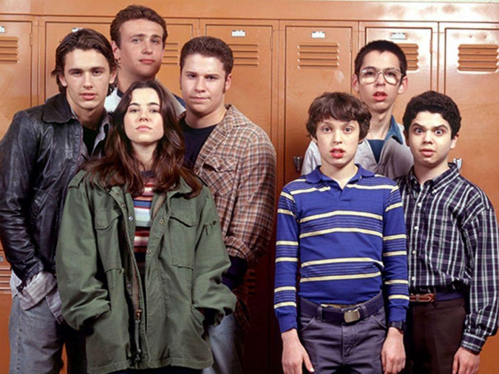 Główni bohaterowie serialu Freaks and Geeks