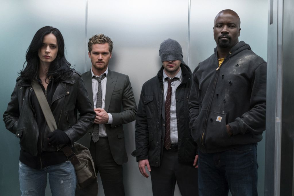 The Defenders I inne crossovery