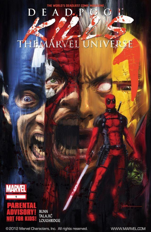 deadpool kills the marvel universe again komiks