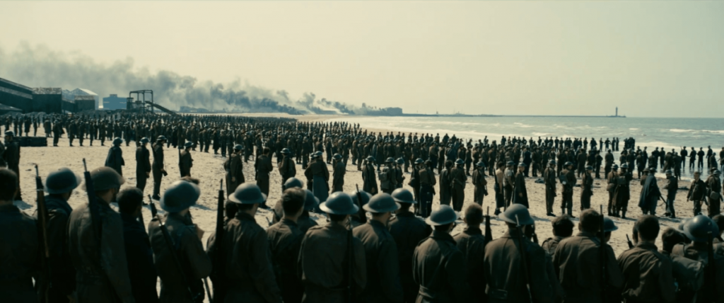 Kadr z filmu Dunkierka