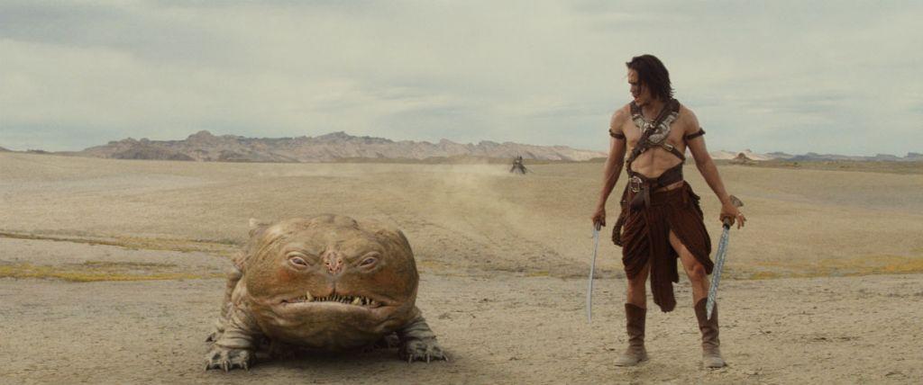 Kadr z filmu John Carter