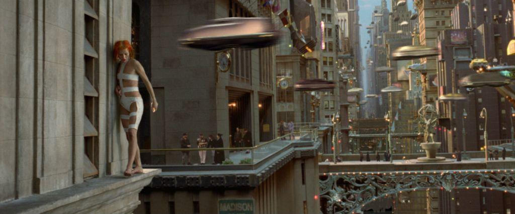 Kadr z filmu Piąty Element