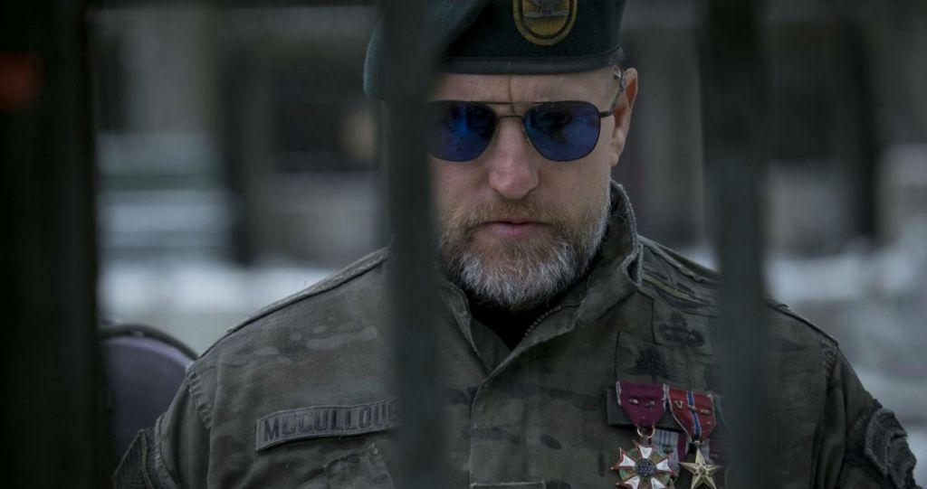 Woody Harrelson jako Pułkownik - kadr z filmu Wojna o Planetę Małp