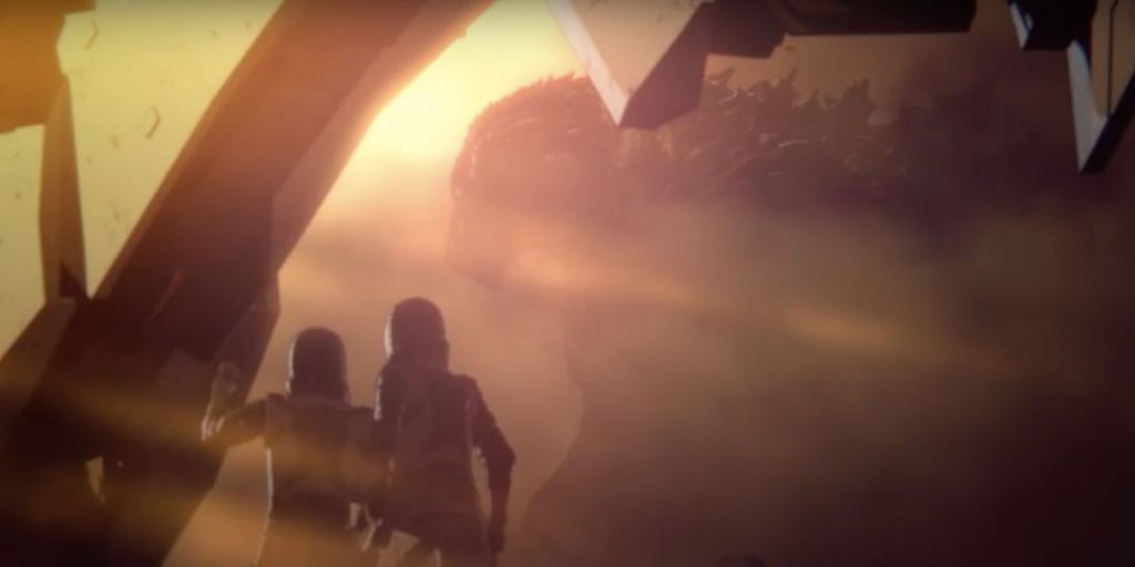 zwiastun Godzilla: Monster Planet